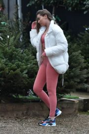 Chloe Ross Out Shopping at Chigwell Garden Centre 11/25/2020 3