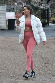 Chloe Ross Out Shopping at Chigwell Garden Centre 11/25/2020 8