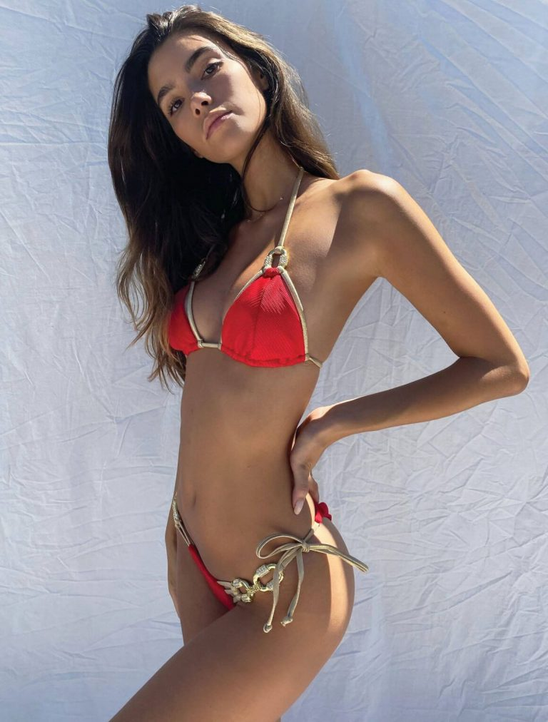 Cindy Mello in Red Bikini for Beach Bunny Swimwear 2020 1