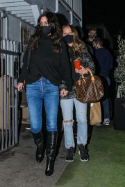 Courteney Cox and Jennifer Meyer Night Out at Giorgio Baldi in Santa Monica 11/24/2020 8