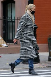 Daphne Groeneveld seen Long Coat after leaves for Lunch in New York 12/02/2020 1