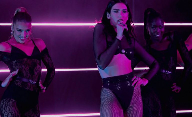 Dua Lipa Performs at Los Music Awards in France 12/05/2020 6