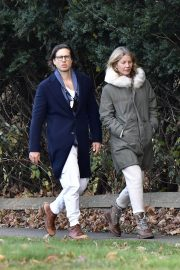 Gwyneth Paltrow and Brad Falchuk walks Out in New York 11/29/2020 1
