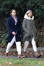 Gwyneth Paltrow and Brad Falchuk walks Out in New York 11/29/2020 3