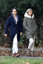 Gwyneth Paltrow and Brad Falchuk walks Out in New York 11/29/2020 5