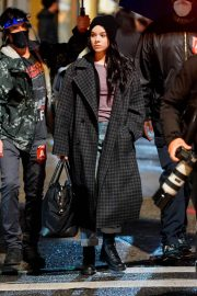Hailee Steinfeld on the Set of Hawkeye in New York 12/04/2020 5