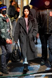 Hailee Steinfeld on the Set of Hawkeye in New York 12/04/2020 6