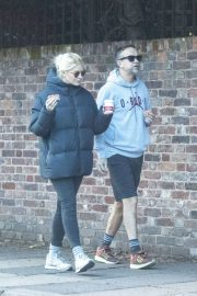 Holly Willoughby with Her Husband Daniel Baldwin Out and About in London 11/10/2020 3