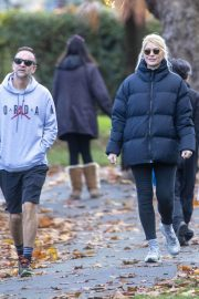 Holly Willoughby with Her Husband Daniel Baldwin Out and About in London 11/10/2020 4