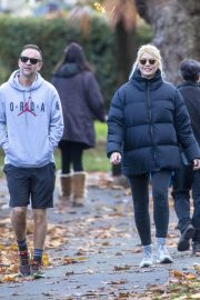 Holly Willoughby with Her Husband Daniel Baldwin Out and About in London 11/10/2020 5