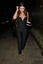 Imogen Thomas at Jak's Restaurant and Bar in London 12/04/2020 1