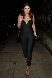Imogen Thomas at Jak's Restaurant and Bar in London 12/04/2020 2