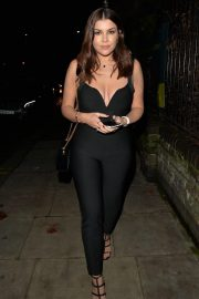 Imogen Thomas at Jak's Restaurant and Bar in London 12/04/2020 4