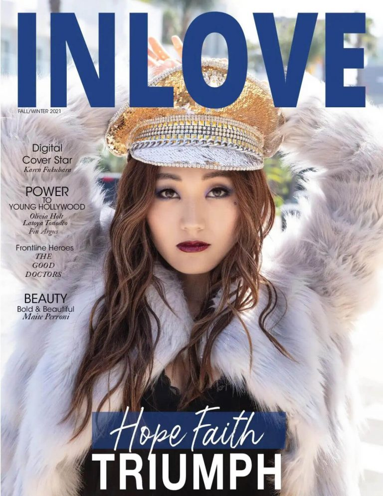 Karen Fukuhara Photoshoot for INLOVE Magazine Fall/Winter 2020 7