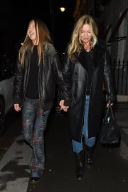 Kate Moss and Lila Grace Moss Sisters Night Out in Mayfair 12/04/2020 1