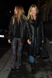 Kate Moss and Lila Grace Moss Sisters Night Out in Mayfair 12/04/2020 3
