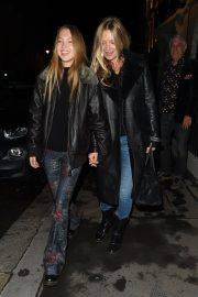 Kate Moss and Lila Grace Moss Sisters Night Out in Mayfair 12/04/2020 4