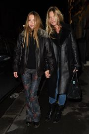 Kate Moss and Lila Grace Moss Sisters Night Out in Mayfair 12/04/2020 5