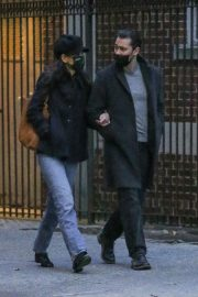 Katie Holmes and Emilio Vitolo Jr Out Shopping Flowers in New York 11/25/2020 1