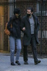 Katie Holmes and Emilio Vitolo Jr Out Shopping Flowers in New York 11/25/2020 2