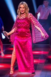 Kylie Minogue Performs at Jonathon Ross Show in London 12/03/2020 9