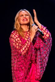 Kylie Minogue Performs at Jonathon Ross Show in London 12/03/2020 10