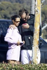 Lais Ribeiro and Joakim Noah Out in Malibu 12/04/2020 7