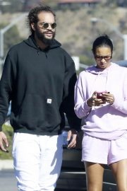 Lais Ribeiro and Joakim Noah Out in Malibu 12/04/2020 8