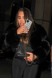 Lauren Goodger with her friend Night Out in London 12/04/2020 3