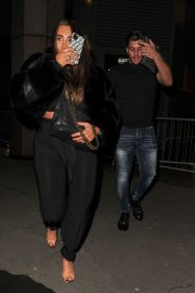 Lauren Goodger with her friend Night Out in London 12/04/2020 7