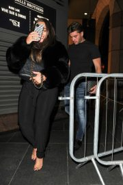 Lauren Goodger with her friend Night Out in London 12/04/2020 9