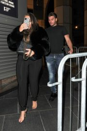 Lauren Goodger with her friend Night Out in London 12/04/2020 10