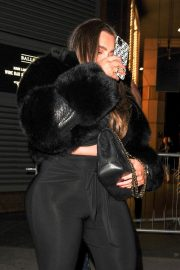 Lauren Goodger with her friend Night Out in London 12/04/2020 12