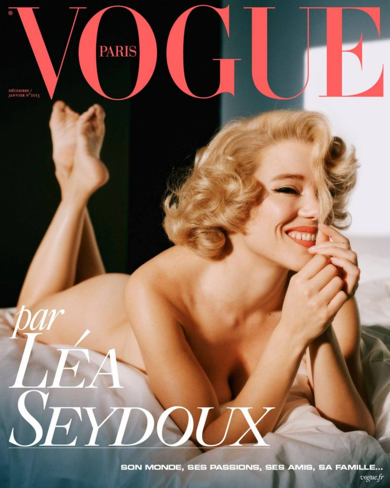 Lea Seydoux Photoshoot for Vogue Magazine Paris December 2020 January 2021 3