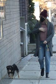 Lili Reinhart Out with Her Dog in Vancouver 12/05/2020 8