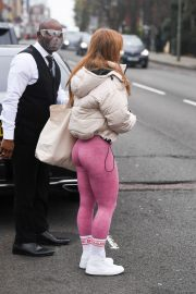 Maisie Smith Arrives at Strictly Come Dancing Practice in London 11/25/2020 1