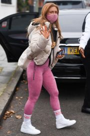 Maisie Smith Arrives at Strictly Come Dancing Practice in London 11/25/2020 2