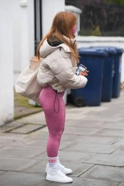 Maisie Smith Arrives at Strictly Come Dancing Practice in London 11/25/2020 7