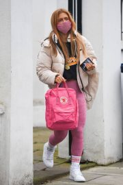 Maisie Smith Arrives at Strictly Come Dancing Practice in London 11/25/2020 8