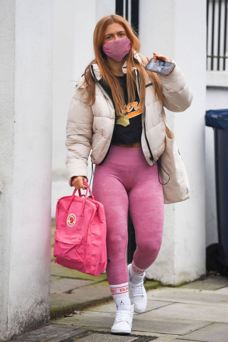 Maisie Smith Arrives at Strictly Come Dancing Practice in London 11/25/2020 9