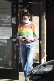 Michelle Monaghan in Colorful Sweater Out and About in Los Angeles 12/02/2020 4