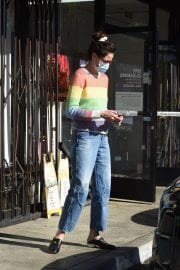 Michelle Monaghan in Colorful Sweater Out and About in Los Angeles 12/02/2020 7