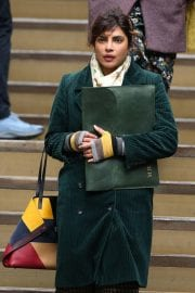 Priyanka Chopra on the Set of Text for You in Meopham 12/04/2020 10