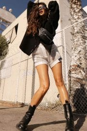 Shay Mitchell flashes her legs in Short Pants - Instagram Photos 12/05/2020 1
