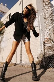 Shay Mitchell flashes her legs in Short Pants - Instagram Photos 12/05/2020 4