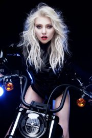 Taylor Momsen at Death by Rock and Roll Single Promos 2020 Photos 3