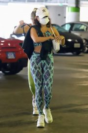 Vanessa Hudgens and GG Magree Out Shopping in Beverly Hills 11/24/2020 7