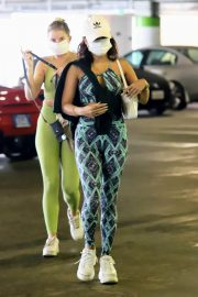 Vanessa Hudgens and GG Magree Out Shopping in Beverly Hills 11/24/2020 12