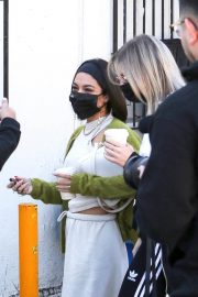 Vanessa Hudgens and GG Magree Out Shopping in Los Angeles 12/04/2020 12