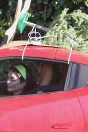 Vanessa Hudgens and GG Magree Shopping for a Christmas Tree in Los Angeles 12/05/2020 6